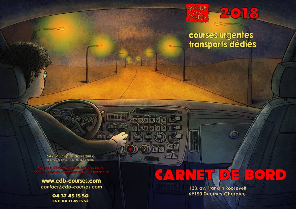 Plaquette Carnet de Bord 2018 recto